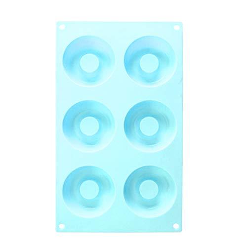 - Selma. Siliconen mallen, FineGood 6 Cavity Anti-aanbakplaat Bakplaat Maker Pan Heat voor Handgemaakte Gift Eén maat Donker Groen