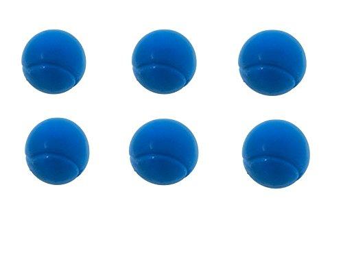E-Deals 70mm Morbido–Confezione di 6Palline da Tennis Blu