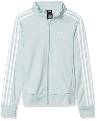 Adidas Essentials - Playera de Tirantes para Mujer, Essentials - Chaqueta Deportiva, Color Verde y Blanco, X-Large