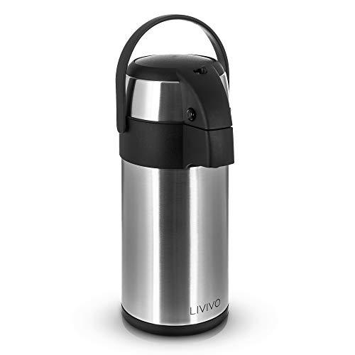 2 l sin bisfenol A termo vac/ío con taza potable para senderismo//camping//ejercicio y m/ás Black-2.8l Termo de acero inoxidable ONEISALL GYBL074 doble pared de acero inoxidable