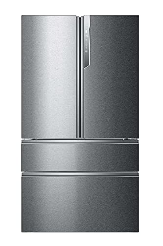 Haier HB26FSSAAA Kühl-Gefrier-Kombination / XXL-Kapazität: 750 Liter / Eiswürfelbereiter / Festwasseranschluss / MyZone / Daylight Lichtsäule / Total No Frost / Dual-Inverter-Kompressor