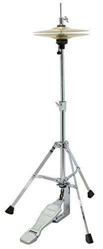 """GEWA pure HitHat Ständer Junior HH-50 inkl. 8\"""" HiHat Becken, Höhe ca. 50cm/70cm"""