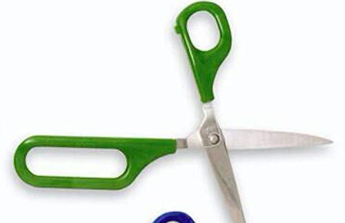 Easi-Grip LPL-1/SO schaar met grote opening in het handvat, automatische afgeronde punten, links, 45 mm 75 mm