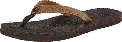 Reef Women's Zen Love Sandals, Brown/Tobacco, 9