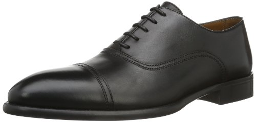 Lottusse L6553-01109-01 - Mocasines para hombre, color Negro (LonDark Old), talla 42 EU (8 UK)
