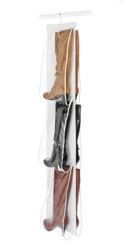 Whitmor - Organizador de botas, para colgar, para 3 pares de botas, para caballeros y damas