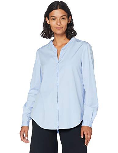 BOSS Casual Damen Bluse Efelize_12, Blau (Open Blue 460), 38 (10 UK)
