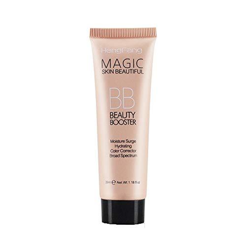Routefutrue Beauté Correcteur Liquide de Fond de Teint Blemish Balm BB Visage Outil de Maquillage Foncé Réparation de Cache-cernes Hydrater Toute la Journée Une Touche (B)