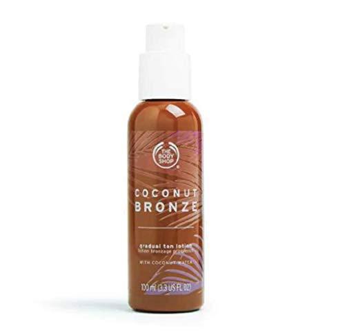 The Body Shop Lotion bronzante progressive, légère et non collante pour peau sensible.