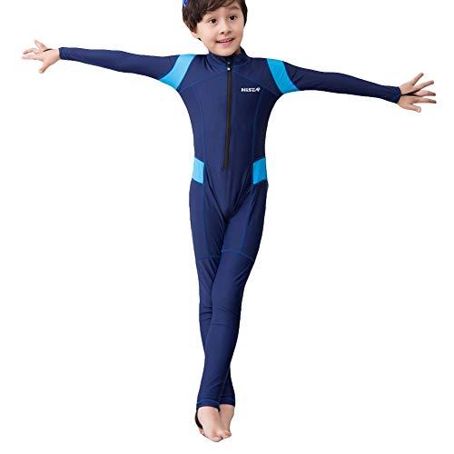 Savlot kinderbadkleding eendelig pak neopreen kinderen zwemmen duiken sportkleding pakken voor meisjes jongens UV-bescherming lange mouwen badpak surpak