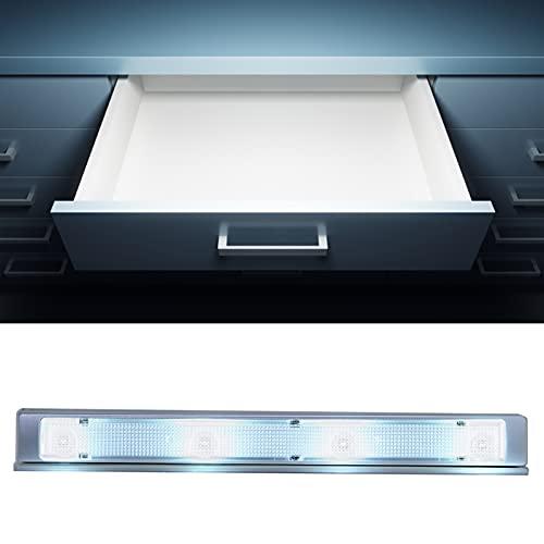Luzes do armário, sensor da lâmpada do guarda-roupa Luz do armário, sensor de vibração de economia de energia para quarto para dormitório para escritório para casa para gabinete