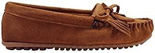 [ミネトンカ] モカシン キルティ スエード ハードソール KILTY SUEDE MOC HARDSOLE レディース [10/18 追加入荷] BROWN(402) US9(約25.5-26.0cm) [並行輸入品]