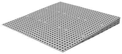 Drempelhulp L 3 laags 5,6 tot 7,2 cm (H) voor binnen 125 cm (B)