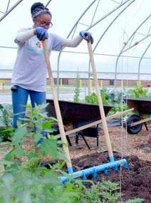 Treadlite Broadfork - Garden Hand Tiller