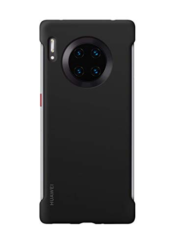 Huawei Mate30 Pro - Funda de Silicona para teléfono móvil, Accesorio Original, Color Negro