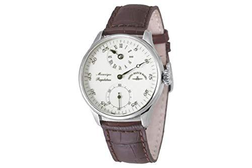 Zeno-Watch Herrenuhr - Godat II Regulator Ivory - 6274Reg-ivo