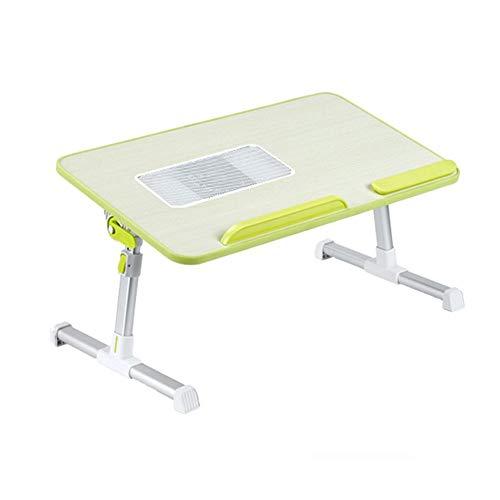 TYZXR Klapptisch einstellbar Anhebbar/Tragbar/Abnehmbar/Computertisch/Esstisch Drehbar (Farbe: G, Größe: 60 * 33CM)