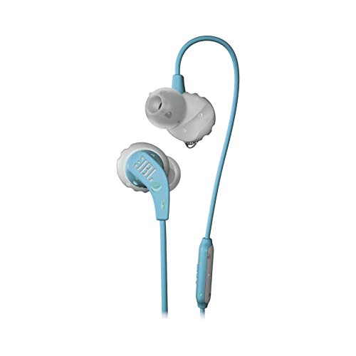 JBL Endurance Run, in-Ear Sport Headphone with one-Button mic/Remote - Teal