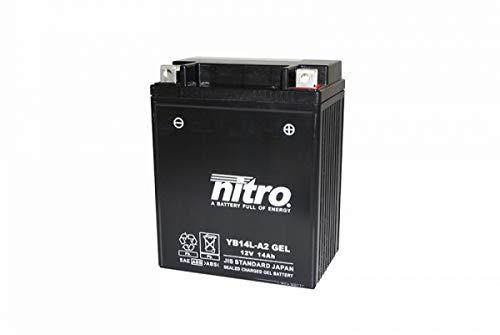 Yb14L-A2 Gel Nitro Batteria Moto Yb14L-A2 Gel