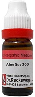 Dr. Reckeweg Aloe Socotrina 200 CH (11ml) - Pack Of 1 Bottle & (Free St. George's COF MIX - An Ideal Remedy for COUGH 1 pc...