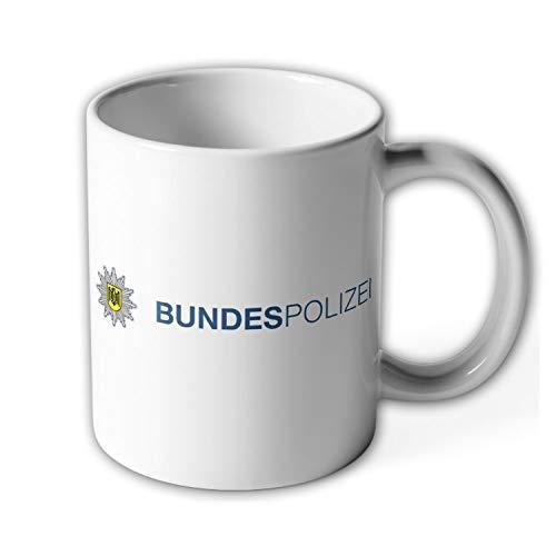 Bundespolizei Typ2 Wappen BPOL Abzeichen Sonderpolizei Bundes Adler Tasse #9791