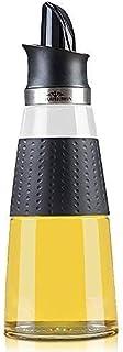 PURPLECROWN 500ml Olive Oil Dispenser Bottle,Seasoning bottle, Condiment Container Oil Glass Bottle