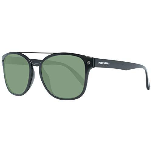 DSquared DQ0256 5301N Dsquared2 zonnebril Dq0256 01N Wayfarer zonnebril 53, zwart