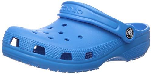 Crocs Classic Clog Kids Roomy fit, Zuecos Unisex niños, Azul (Ocean), 20/21...