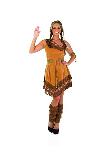 Adult Indian Native American Beauty Womens Fancy Dress Costume Outfit Dreamgirl