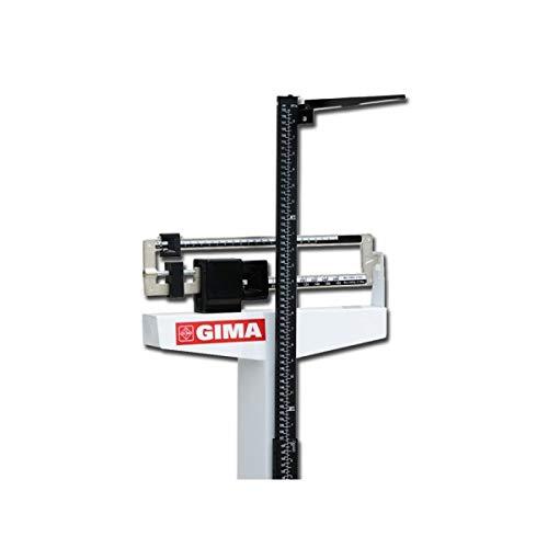 GIMA Bilancia Astra, Meccanica con Altimetro, 200 kg, 75-200 cm