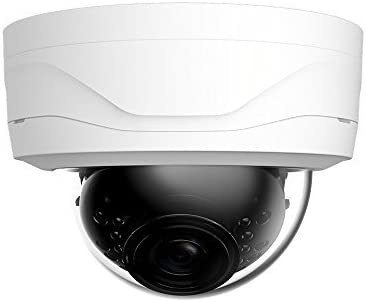Dahua OEM 4MP H.265 IP Dome Camera 2.8mm Fixed Lens 20fps@4MP PoE IP67 98ft IR Home Security Network Camera White