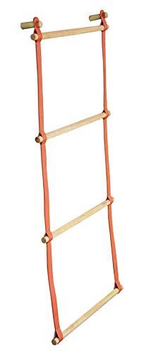 Toallero de pared – 4 barras laterales – Madera con efecto piel – 100 x 52 x 7 cm