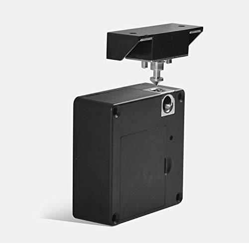 Cerradura invisible para taquilla, cerradura universal para taquilla, cerradura oculta invisible, cerradura electrónica inteligente para cajón