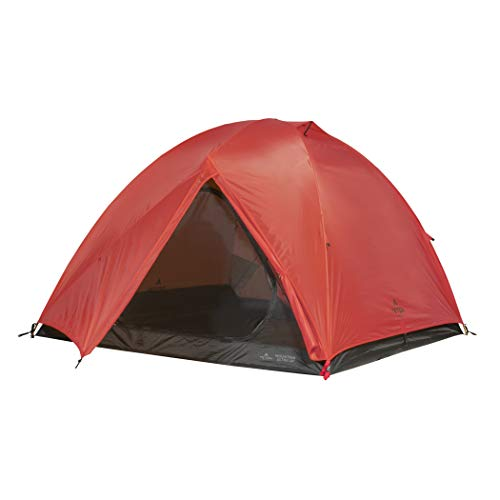 TETON Sports Mountain Ultra Tent; 3 Person Backpacking Dome Tent for Camping; Red, Model: 2007RD