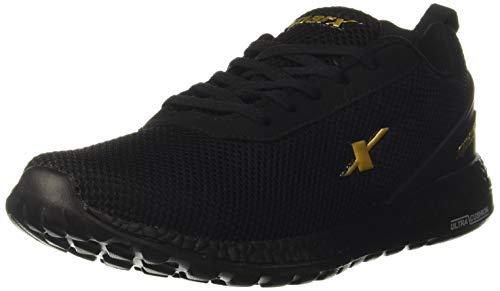 Sparx Men's SM-414 Black Golden Running Shoe-8 Kids UK (SX0414GBKGO0008)