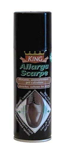 King Allargascarpe Spray per Scarpe in Pelle e Tessuto 200ml