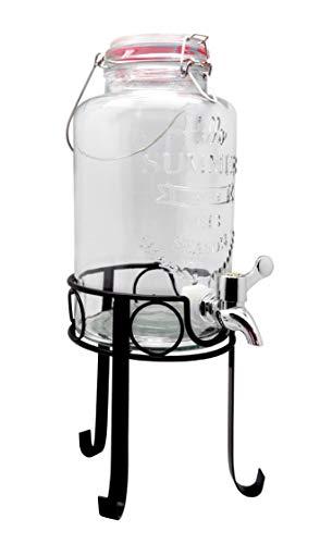 Nerthus FIH 285 - Dispenser da 3 litri con supporto