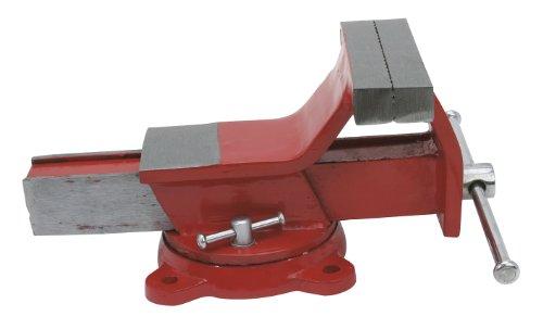 Cogex 64356 - Morsa in acciaio, base girevole