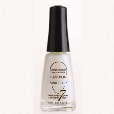 Fashion Make-Up FMU1400103 Vernis à Ongles Classic N°103 Pearly White 11 ml