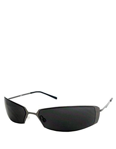 Style jumelles lunettes, Bronze châssis / Fumée lentille miroir