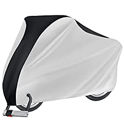 bicycle cover with lock holes