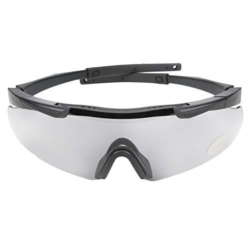 DAUERHAFT Anti-Kratzer mit Einer Gummi-Nasenbrücke Mit Einer Neopren-Schutzbrille, passen Sie die meisten Gesichtsformen an und schützen Sie die Augen vor Schaden