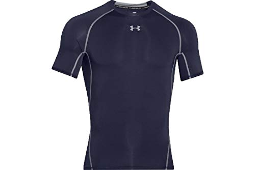 Under Armour 1257468 T-shirts à manches courtes Homme - Bleu (Midnight Navy/Steel (410) - L