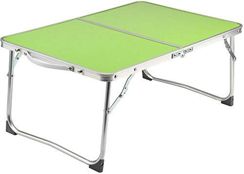 Mesa plegable para niños pequeña mesa plegable con mesa de 4 pies de aluminio plegable mesa portátil para estudio o mesa al aire libre para picnic barbacoa