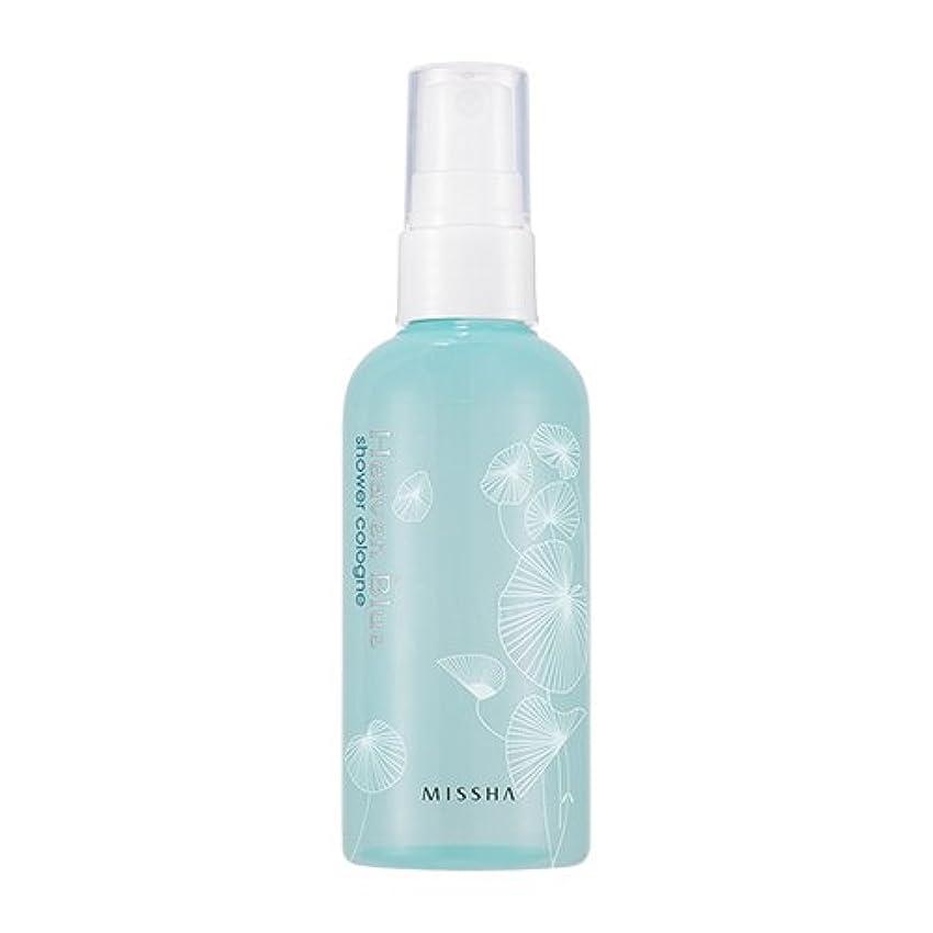 類推明らかにする床を掃除するMISSHA Perfumed Shower Cologne Heaven Blue 105ml / ミシャ パフュームドシャワーコロン ヘブンブルー 105ml [並行輸入品]