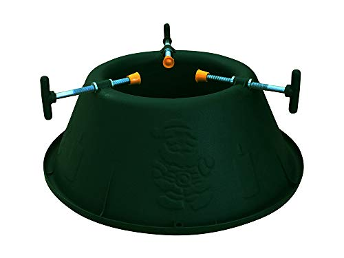 Garden Pride Plastic Christmas Tree Stand for live Christmas Tree Stand - Holds a tree up to 6ft tall