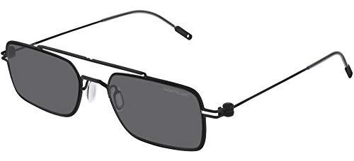 Gafas de Sol Mont Blanc MB0051S Black/Grey 54/19/145 hombre