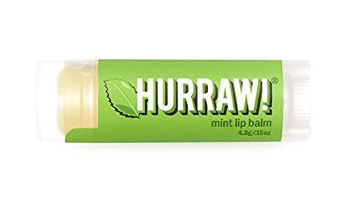 Hurraw! - Lippenpflegestift Minze - 100% bio, roh und fairtrade - 4,3g