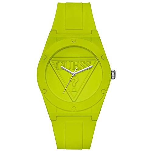 Guess Reloj Analógico para Mujer de Cuarzo con Correa en Silicona W0979L26