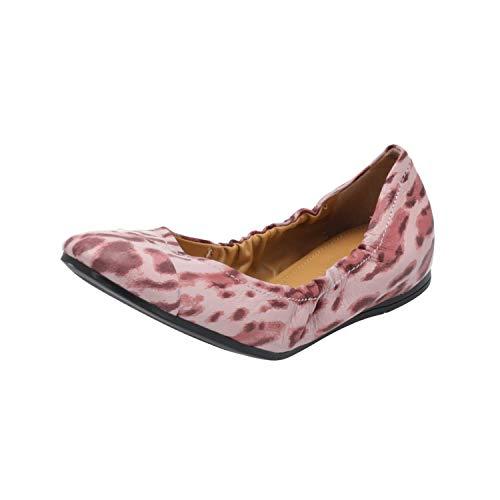 Liebeskind LS0014 Damen Ballerinas Rosa Slippers Espadrilles Loafer, Größe:EUR 38